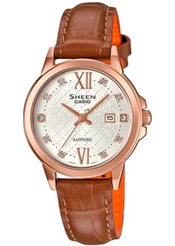 Casio Часы Casio SHE-4525PGL-7A. Коллекция Sheen casio sheen she 3806d 7a