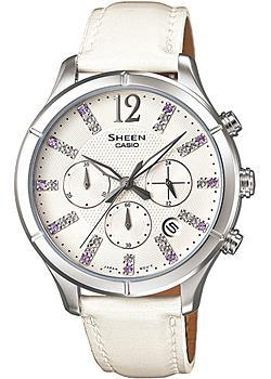 Casio Часы Casio SHE-5020L-7A. Коллекция Sheen casio sheen she 3512d 7a