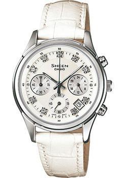 Casio Часы Casio SHE-5023L-7A. Коллекция Sheen casio часы casio she 3049pgl 7a коллекция sheen