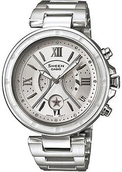 Casio Часы Casio SHE-5515D-7A. Коллекция Sheen casio sheen she 3050sg 7a