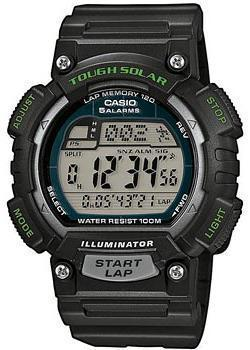 Casio Часы Casio STL-S100H-1A. Коллекция Digital casio sports stl s100h 1a