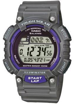 Casio Часы Casio STL-S100H-8A. Коллекция Digital casio sports stl s100h 8a