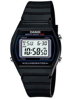Casio Часы Casio W-202-1A. Коллекция Digital casio часы casio w 59b 1a коллекция digital