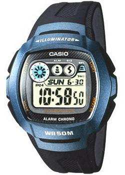 Casio Часы Casio W-210-1B. Коллекция Digital casio w 216h 1b