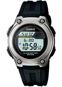 Casio Часы Casio W-211-1A. Коллекция Digital casio часы casio w 756 1a коллекция digital