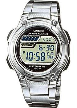 Casio Часы Casio W-212HD-1A. Коллекция Digital электронные часы casio collection w 212hd 1a silver