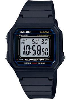 Casio Часы Casio W-217H-1A. Коллекция Digital casio w 753 1a