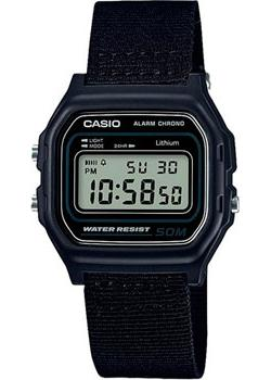 Casio Часы Casio W-59B-1A. Коллекция Digital casio w s220d 1a