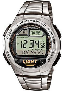 Casio Часы Casio W-734D-1A. Коллекция Digital casio w 734 1a casio