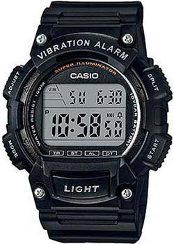 Casio Часы Casio W-736H-1A. Коллекция Digital мужские часы casio w 736h 1a