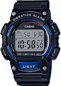 Casio Часы Casio W-736H-2A. Коллекция Digital casio часы casio w 736h 3a коллекция digital
