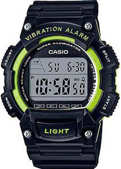 Casio Часы Casio W-736H-3A. Коллекция Digital casio часы casio w 736h 3a коллекция digital