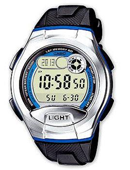 цена Casio Часы Casio W-752-2B. Коллекция Digital онлайн в 2017 году