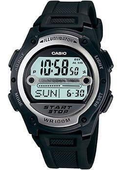 Casio Часы Casio W-756-1A. Коллекция Digital casio часы casio w 59b 1a коллекция digital