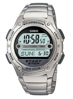 Casio Часы Casio W-756D-7A. Коллекция Digital casio sheen multi hand shn 3013d 7a