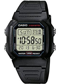 Casio Часы Casio W-800H-1A. Коллекция Digital casio часы casio w 213 9a коллекция digital