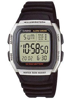 Casio Часы Casio W-96H-1A. Коллекция Digital casio часы casio w 756 1a коллекция digital