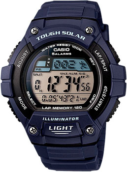 Casio Часы Casio W-S220-2A. Коллекция Digital casio часы casio w 213 9a коллекция digital