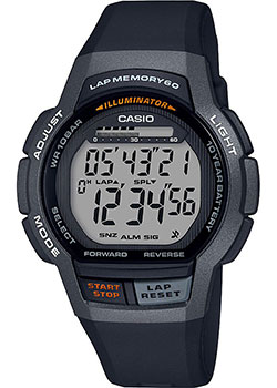 Часы Casio Digital WS-1000H-1AVEF