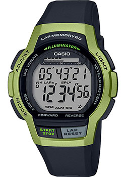 Часы Casio Digital WS-1000H-3AVEF