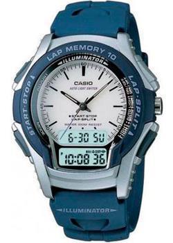 Casio Часы Casio WS-300-2E. Коллекция Ana-Digi casio ws 300 1b