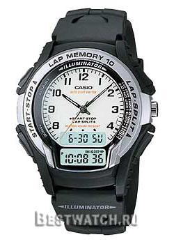 Casio Часы Casio WS-300-7B. Коллекция Ana-Digi наручные часы casio bga 190kt 7b