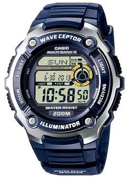 Casio Часы Casio WV-200E-2A. Коллекция Wave Ceptor casio часы casio wv 200e 4a коллекция wave ceptor