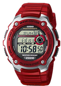 Casio Часы Casio WV-200E-4A. Коллекция Wave Ceptor casio часы casio wv 200e 4a коллекция wave ceptor