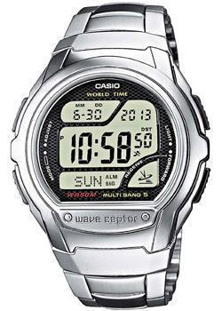 Casio Часы Casio WV-58DE-1A. Коллекция Wave Ceptor casio часы casio wv 200e 2a коллекция wave ceptor