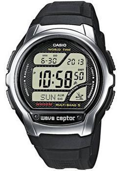 Casio Часы Casio WV-58E-1A. Коллекция Wave Ceptor casio wave ceptor wv m60 9a
