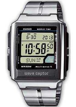 Casio Часы Casio WV-59DE-1A. Коллекция Wave Ceptor casio часы casio wv 58de 1a коллекция wave ceptor