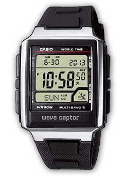 Casio Часы Casio WV-59E-1A. Коллекция Wave Ceptor casio часы casio wv 58e 1a коллекция wave ceptor