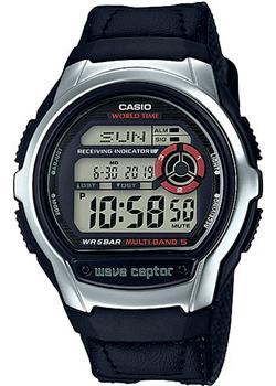 Casio Часы Casio WV-M60B-1A. Коллекция Wave Ceptor casio wave ceptor wv m60b 3a
