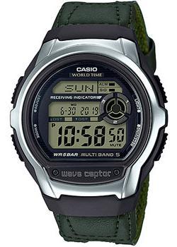 Casio Часы Casio WV-M60B-3A. Коллекция Wave Ceptor casio часы casio wv 200e 2a коллекция wave ceptor