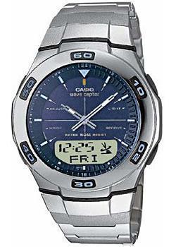 Casio Часы Casio WVA-105HDE-2A. Коллекция Wave Ceptor casio часы casio wva 105hde 2a коллекция wave ceptor