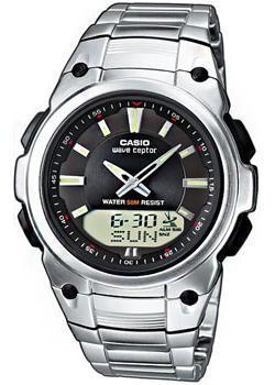 Casio Часы Casio WVA-109HDE-1A. Коллекция Wave Ceptor casio wave ceptor wva 109hde 7a