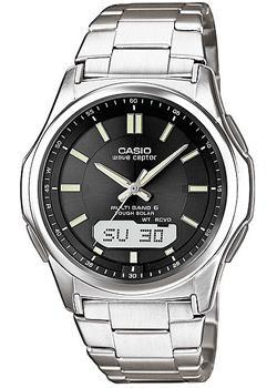 Casio Часы Casio WVA-M630TD-1A. Коллекция Wave Ceptor casio wave ceptor wv 200e 2a