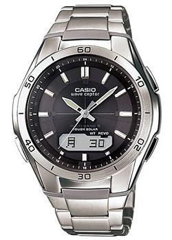 Casio Часы Casio WVA-M640D-1A. Коллекция Wave Ceptor casio wave ceptor wva 105hde 1a