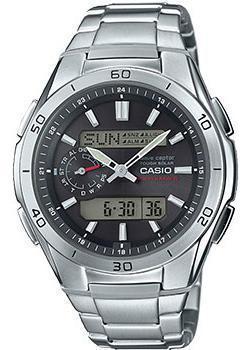 Casio Часы Casio WVA-M650D-1A. Коллекция Wave Ceptor casio часы casio wva 105hde 2a коллекция wave ceptor