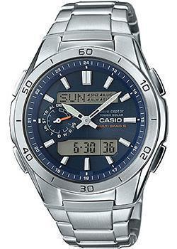 Casio Часы Casio WVA-M650D-2A. Коллекция Wave Ceptor casio часы casio wva m650d 1a коллекция wave ceptor