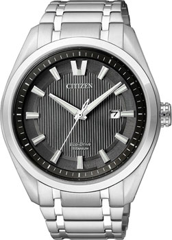 Citizen Часы Citizen AW1240-57E. Коллекция Super Titanium часы citizen as2031 57e