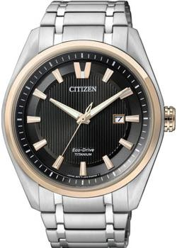 Citizen Часы Citizen AW1244-56E. Коллекция Super Titanium цена