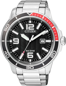 Citizen Часы Citizen AW1520-51EE. Коллекция Eco-Drive citizen часы citizen bf2011 51ee коллекция basic