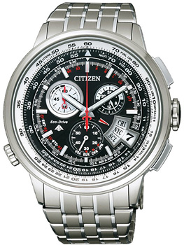 Citizen Часы Citizen BY0011-50E. Коллекция Chronograph мужские часы citizen ao9020 50e