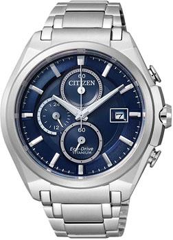 Citizen Часы Citizen CA0350-51M. Коллекция Titanium citizen часы citizen bm1290 54f коллекция titanium