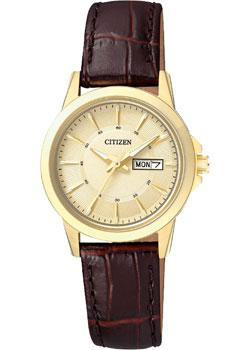 Citizen Часы Citizen EQ0603-08PE. Коллекция Basic citizen часы citizen bf2011 51ee коллекция basic