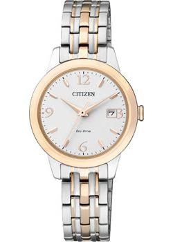 Citizen Часы Citizen EW2234-55A. Коллекция Eco-Drive мужские часы citizen aw1360 55a