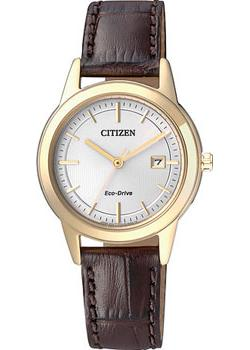 Citizen Часы Citizen FE1083-02A. Коллекция Eco-Drive citizen часы citizen eg3225 54a коллекция eco drive