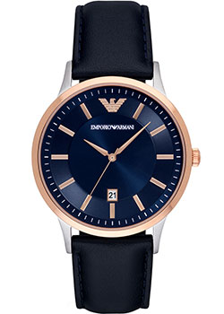 цена Emporio armani Часы Emporio armani AR2506. Коллекция Dress онлайн в 2017 году