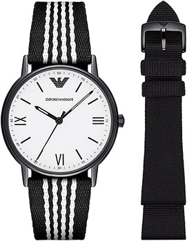 Emporio armani Часы Emporio armani AR80004. Коллекция Dress Watch Gift Set onlyou brand men women dress quartz watch couples calendar table clock real leather fashion casual wristwatches hot sale gift